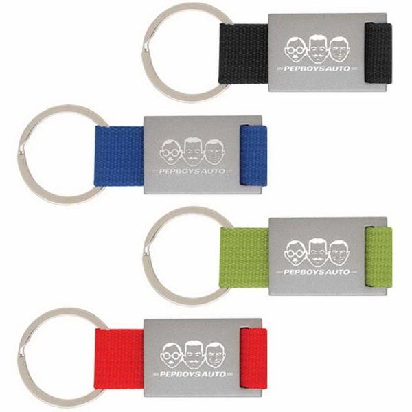 """Valiant Key Ring - Key holder, 3.375""""W x 1.375""""H."""