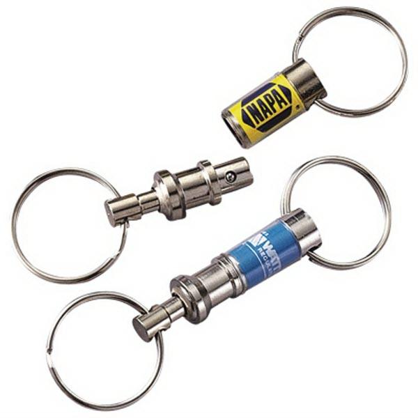 Pull Apart Key Tag