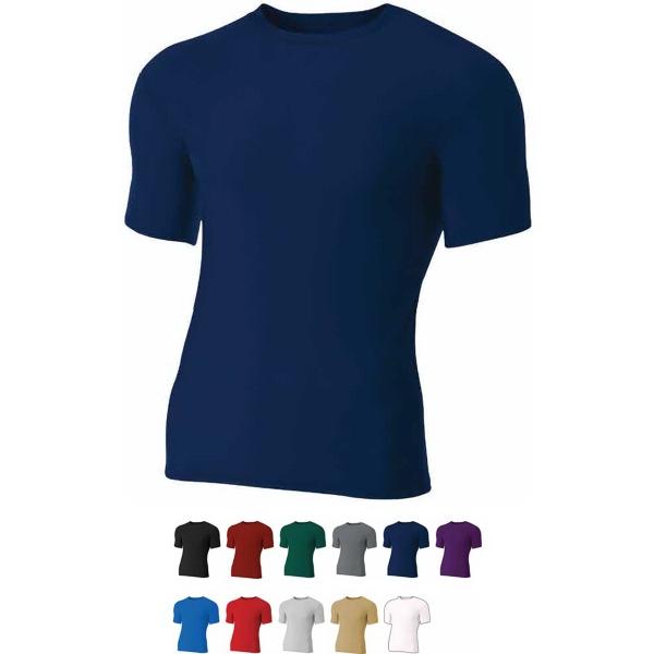 Men's Short Sleeve Compression Crew T-Shirt