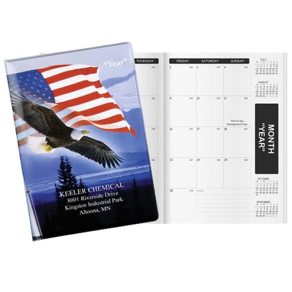 Patriotic Liberty Deluxe Academic Monthly Planner