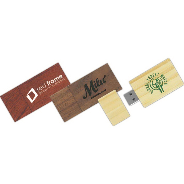 2GB Eco Good Wood Drive (TM) EG