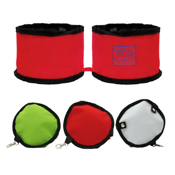 DUAL COMPACT FOLDABLE PET BOWL