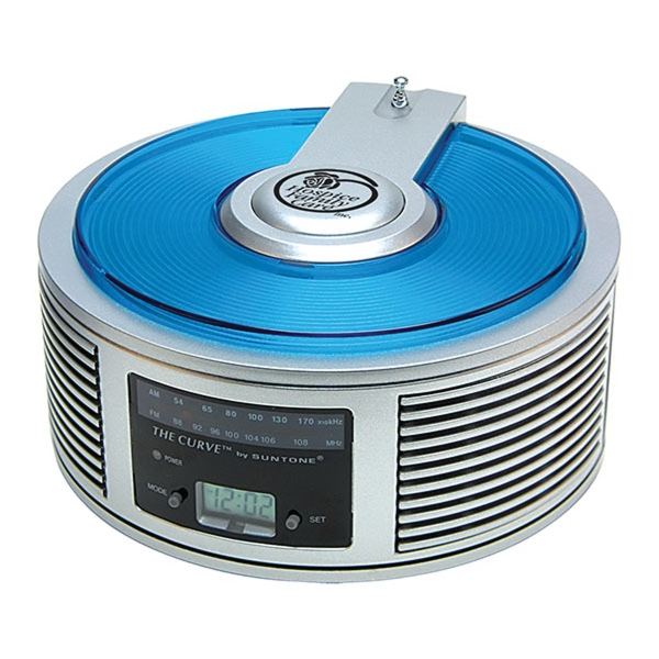 AM/FM Curve Alarm Clock Radio