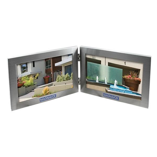 4-inch x 6-inch Dual Photo Frame