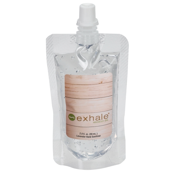 2 oz. Clear Gel Sanitizer in Squeeze Pouch