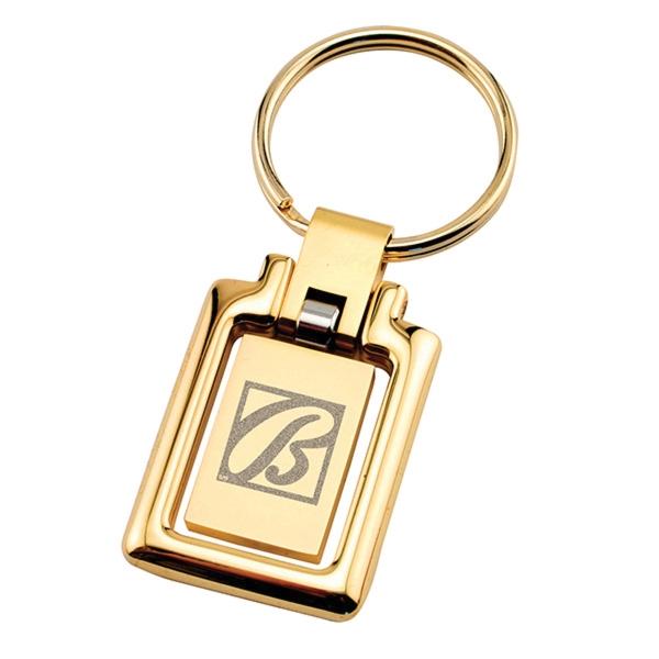 Gold Metal Keychain
