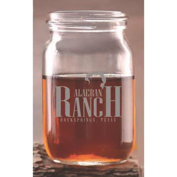 Jar Shot Glass - 4 oz. jar shot glass.