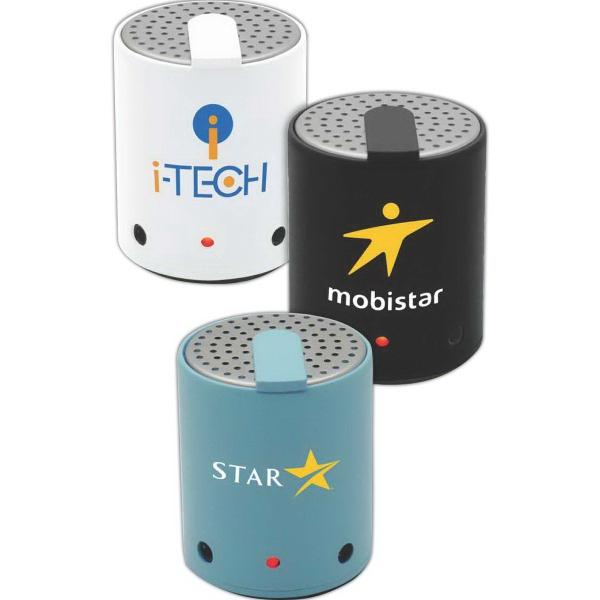 AudioStar (TM) A25 Bluetooth Wireless Speaker - Mini Bluetooth wireless speaker, includes usb charging cable.