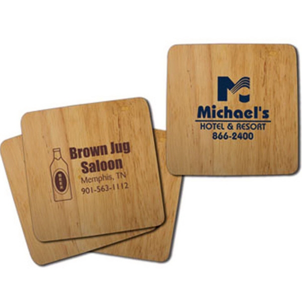 Table Saver Bamboo Coaster - Hail To The Cheif Only available with red or blue imprint to match flag.We Are Number OneHome Is Where The Heart IsOff We GoI