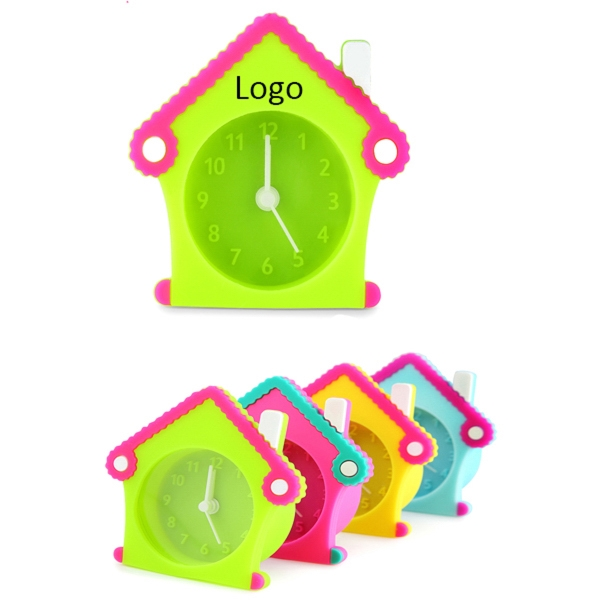 Silicone House Clock