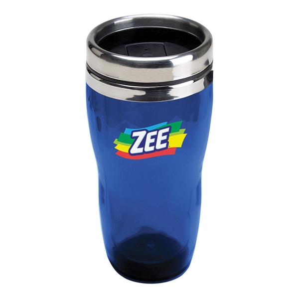 16 oz. Translucent Double Wall Insulated Tumbler