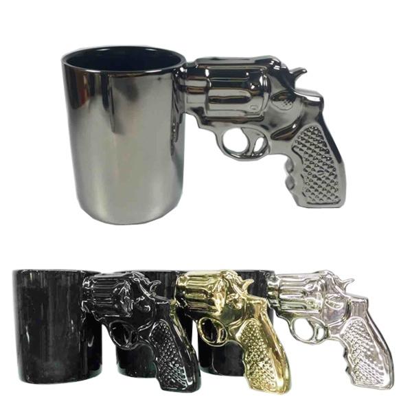 Ceramic Gun Handle Mug