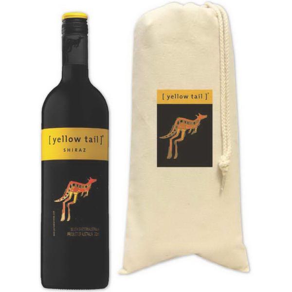 Brand Gear (TM) Sonoma Vineyard Wine Tote - 10 oz cotton canvas wine tote.