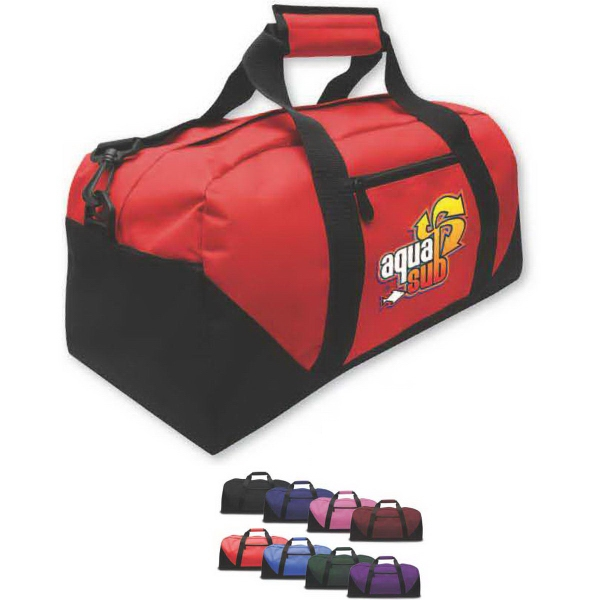 Brand Gear (TM) Daytona (TM) Duffel Bag - Duffel bag with square end style made of 600 denier polyester.