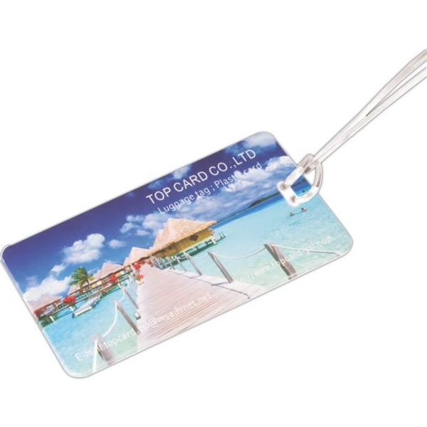 Custom Hi-Flyer Luggage Tag