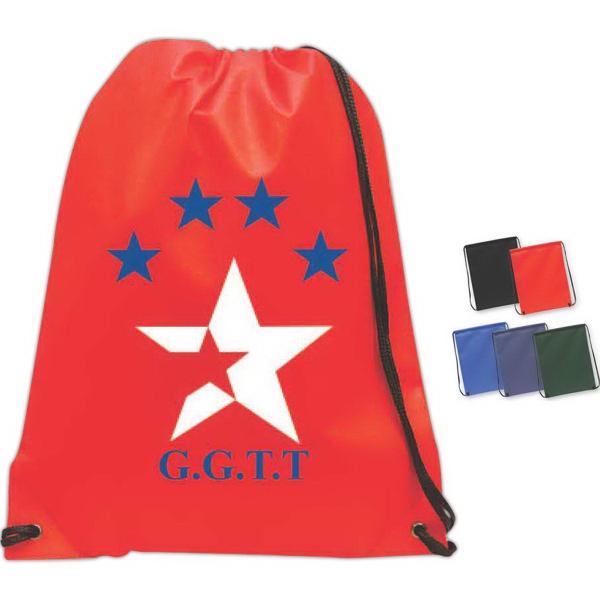 Brand Gear (TM) Acadia Non-Woven Backpack (TM) - Non-woven backpack.