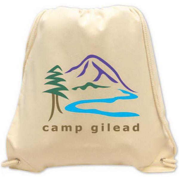 Brand Gear (TM) Molokai Cotton Canvas Backpack (TM) - Cotton canvas backpack.