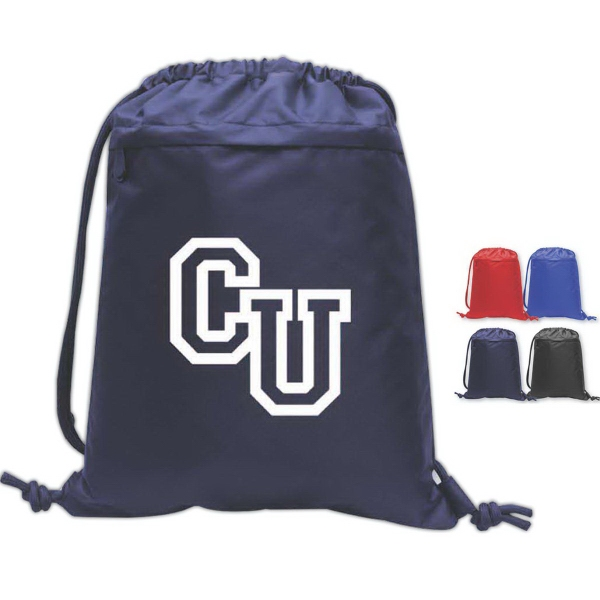 Brand Gear (TM) Collegiate (TM) Performance Backpack - Performance dobby nylon backpack.
