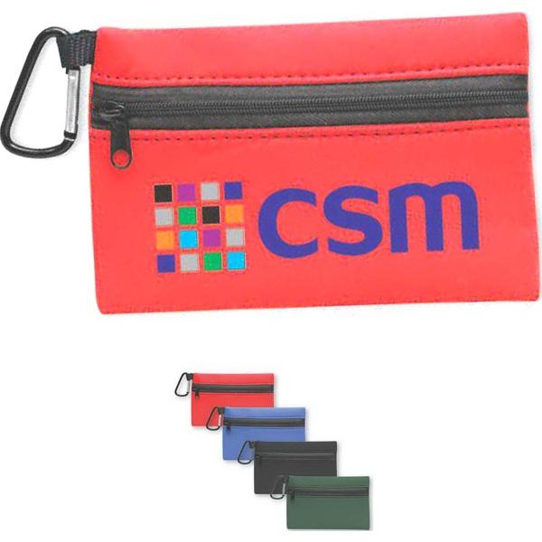 Brand Gear (TM) Neoprene Zipper Wallet (TM) - Neoprene zipper wallet.