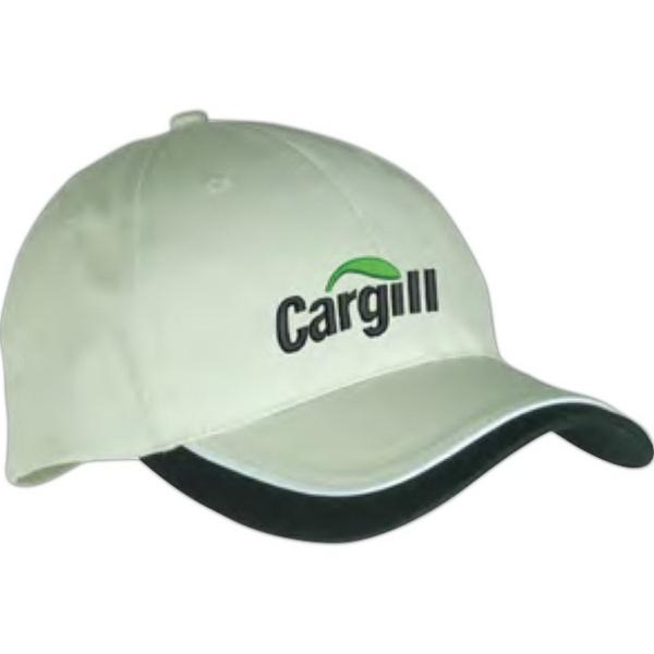 Low-Profile Structured Cap - Low-profile structured cap.