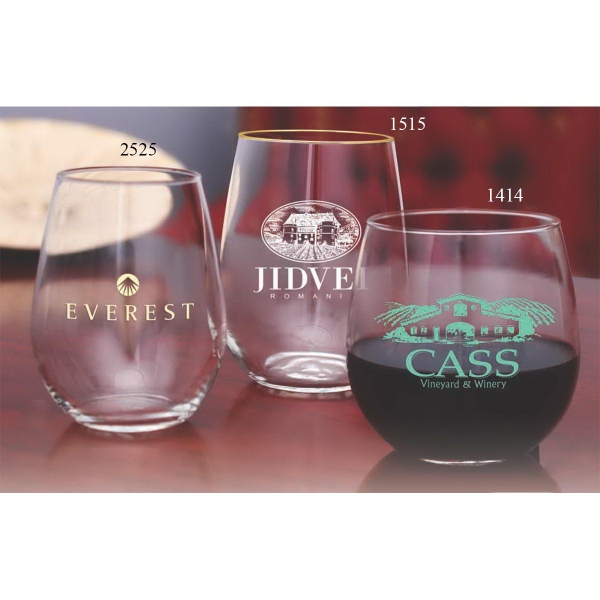 Vina Stemless White Wine Glass