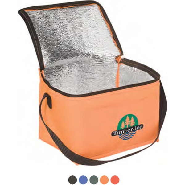 Insulated Lunch Bag - Insulated lunch bag, 80GSM non woven polypropylene.