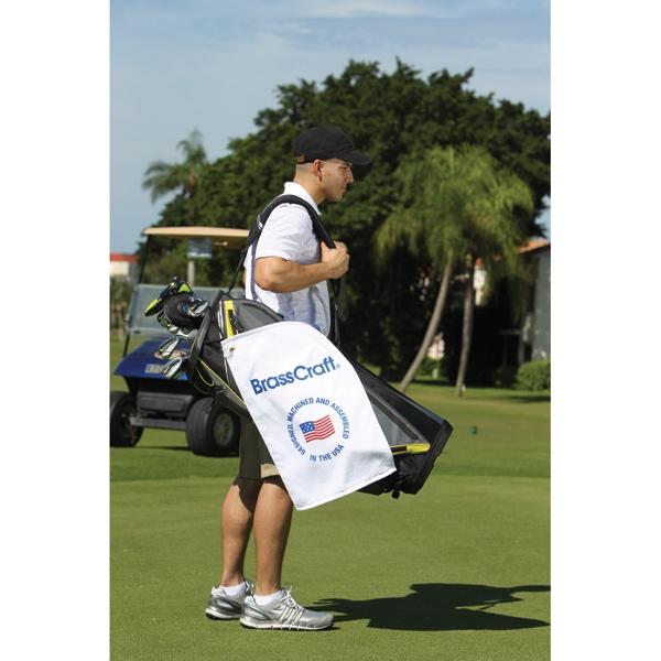 Combed Velour Golf Towel
