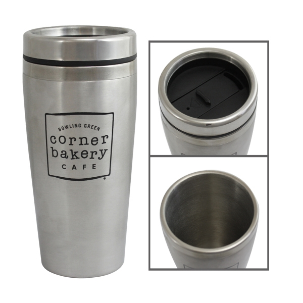 16 oz. Stainless Travel Cups