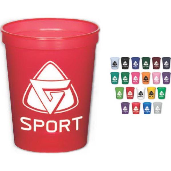 Brand Gear (TM) USA 16 Oz Stadium Cup (TM) - 16 oz. stadium cup in assorted colors.