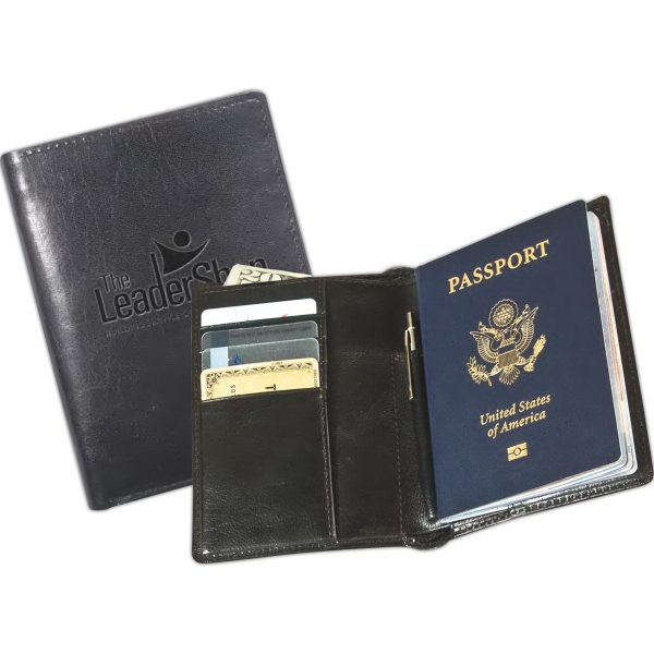 Leeman New York Soho Passport Wallet