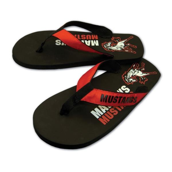 Brand Gear (TM) Santorini (TM) Flip Flop - Flip flop with 15mm EVA foam sole with imprinted insole.