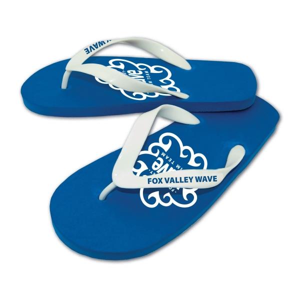 Brand Gear (TM) Wave (TM) Flip Flop - Flip flop with 15mm EVA foam sole.