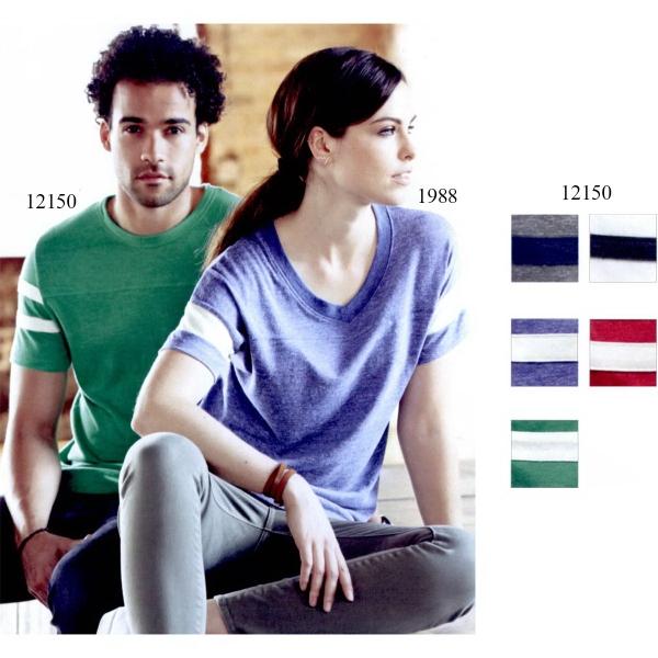 Alternative Eco-Jersey Short Sleeve Football T-Shirt