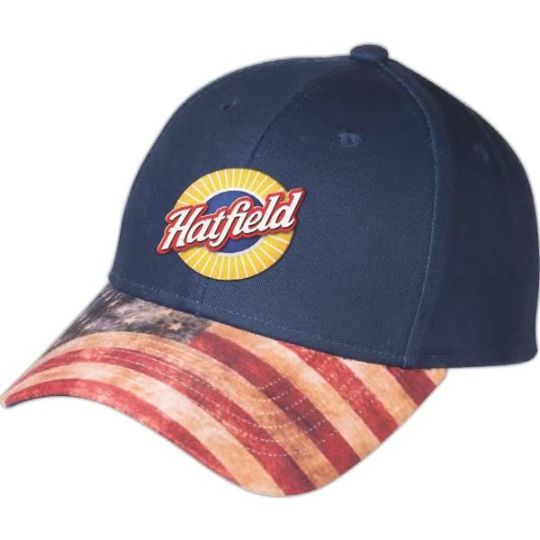 Patriotic 6-Panel Hat