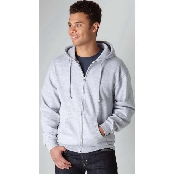 Tultex® Unisex Fleece Zip Hooded