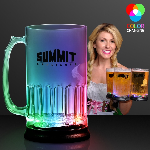 24 Oz. Big Light Up Flashing Beer Mug