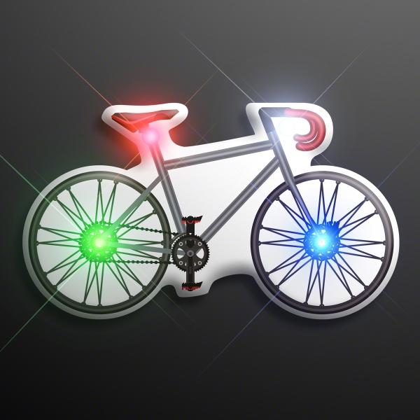Light Up Flashing Bicycle Pins