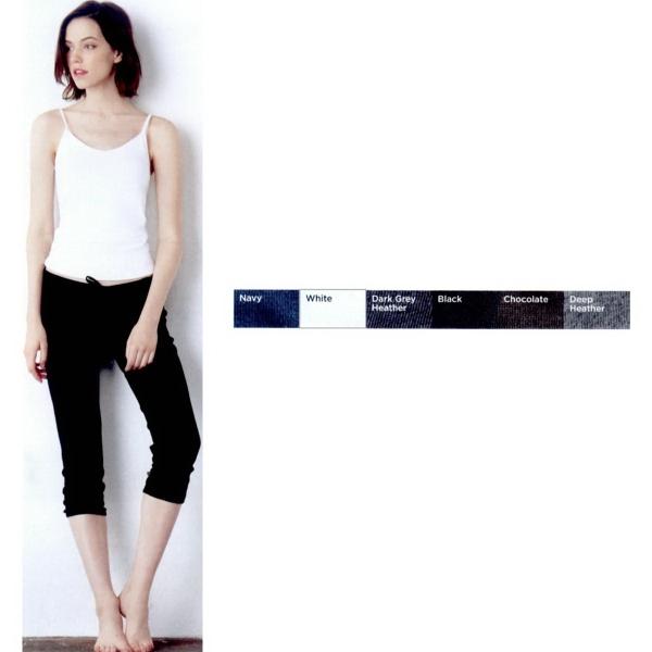 Bella + Canvas (R) Women's Capri Scrunch Pants