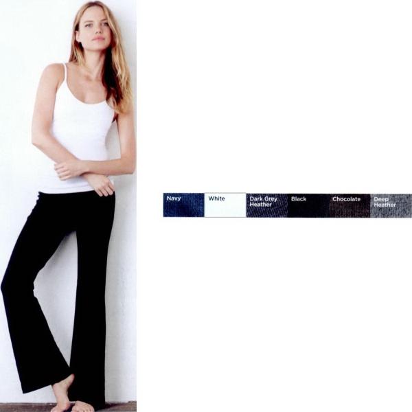 Bella + Canvas Women's Cotton/Spandex Fitness Pants