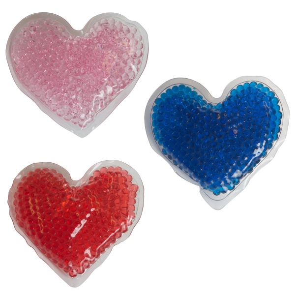 Heart Gel Bead Hot/Cold Packs