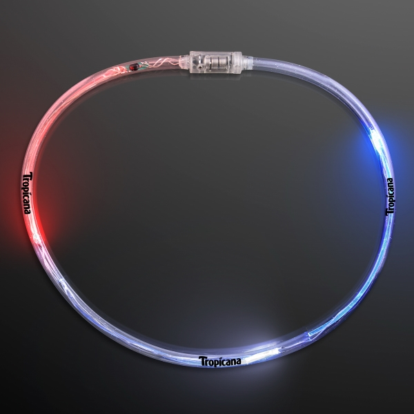 Flashing American Tube Light Up Necklaces