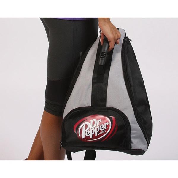 Jersey Mesh Cinch Bag