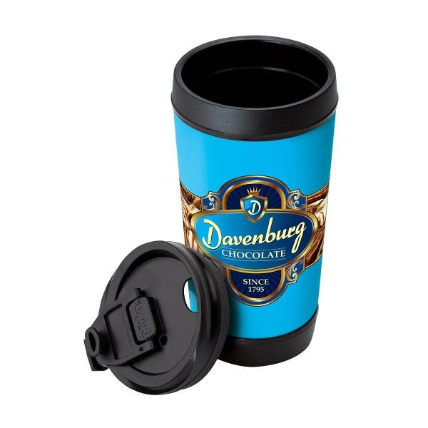 Perka® Hibiscus III 17 oz. Insulated Spill-Proof Mug