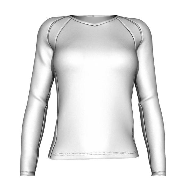 Athena Women's Running Shirt - Long Sleeve