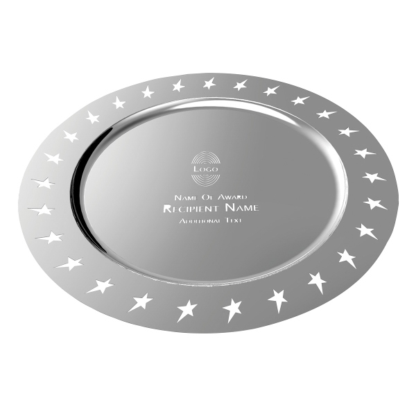 Sales Award Plate