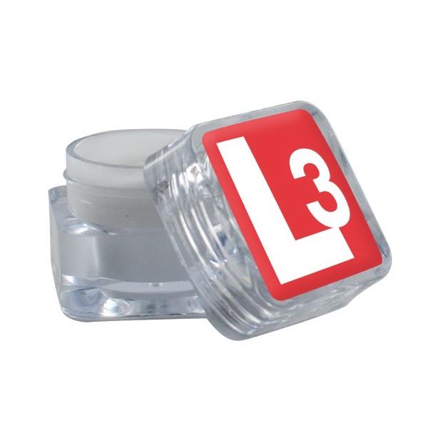 Lip Moisturizer in Square Ice Cube Container