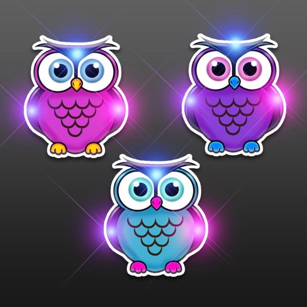 Light Up Owl Blinkies