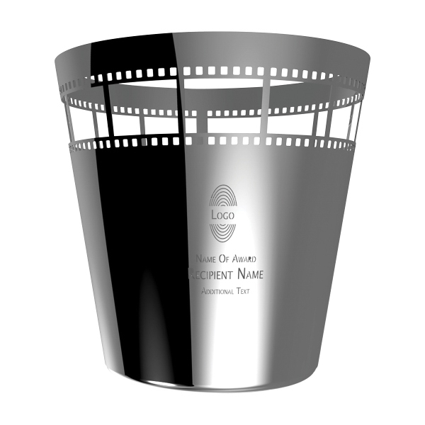 Small Film Theme Award Vase