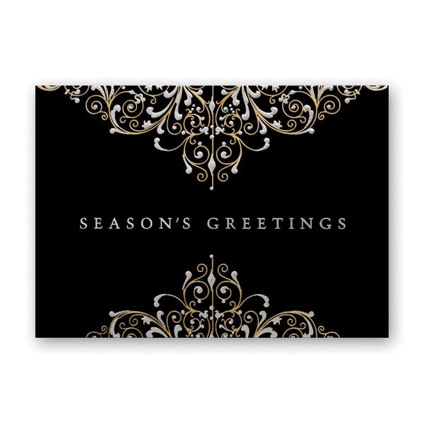 Ornate Radiance Greeting Card
