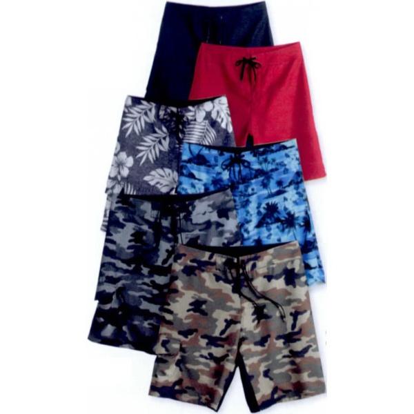 Burnside (R) Camo-Diamond Dobby Board Shorts